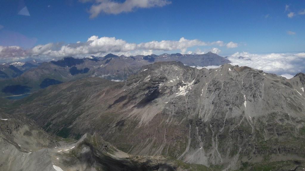 Col d'Etache vers Mt Cenis