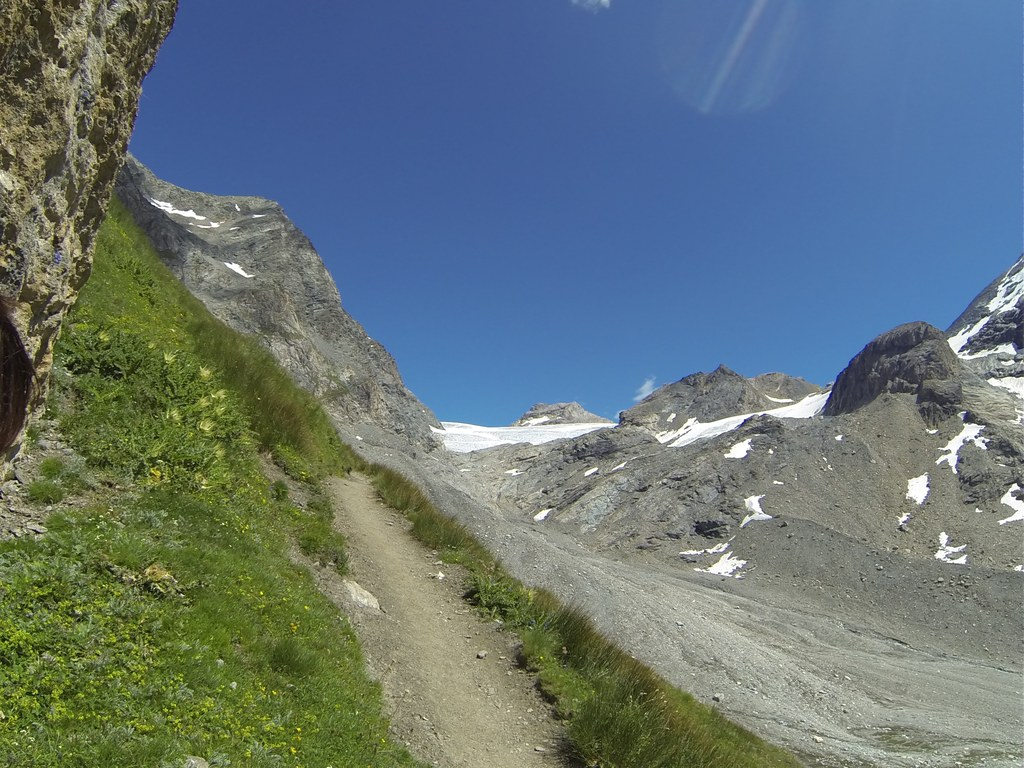 Montée vers Glacier suite