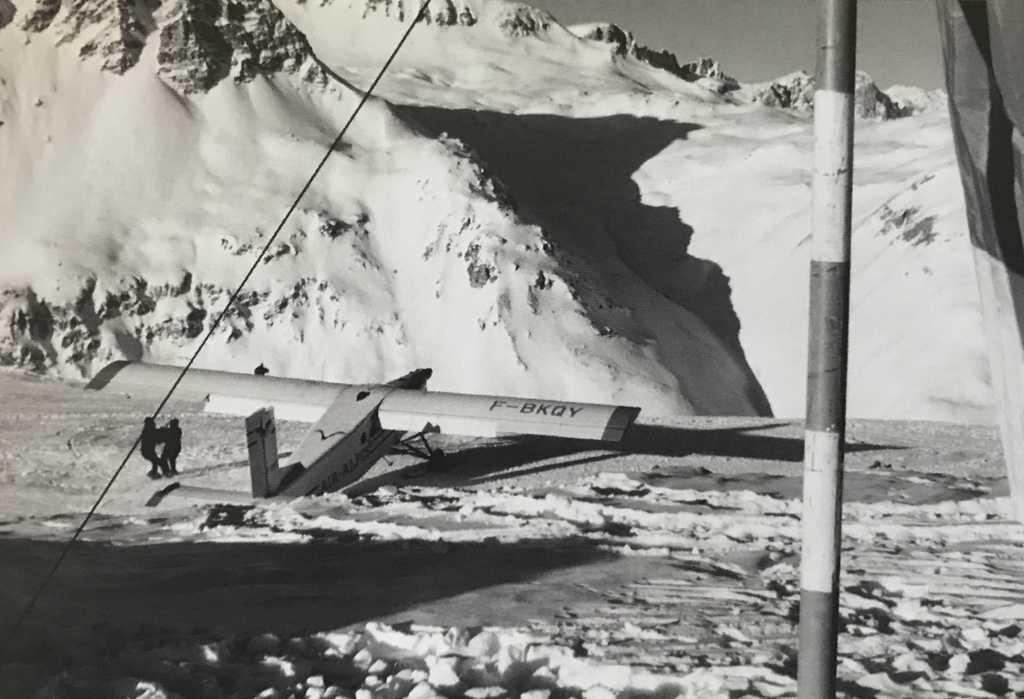 [Val d'Isère]Photos d'archives de la station et des environs - Page 3 Altisurface-solaise-1970
