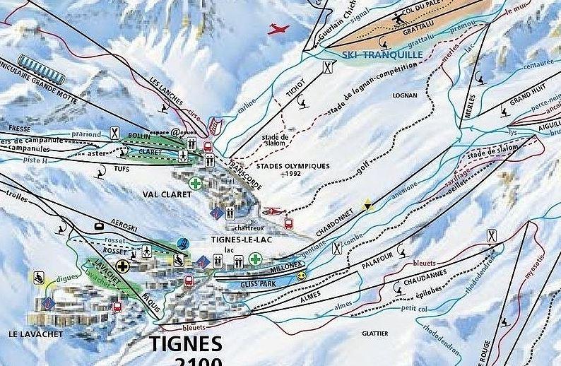 Modification en haut de la Joseray Tignes