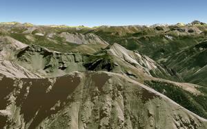 Prachaval via Google Earth